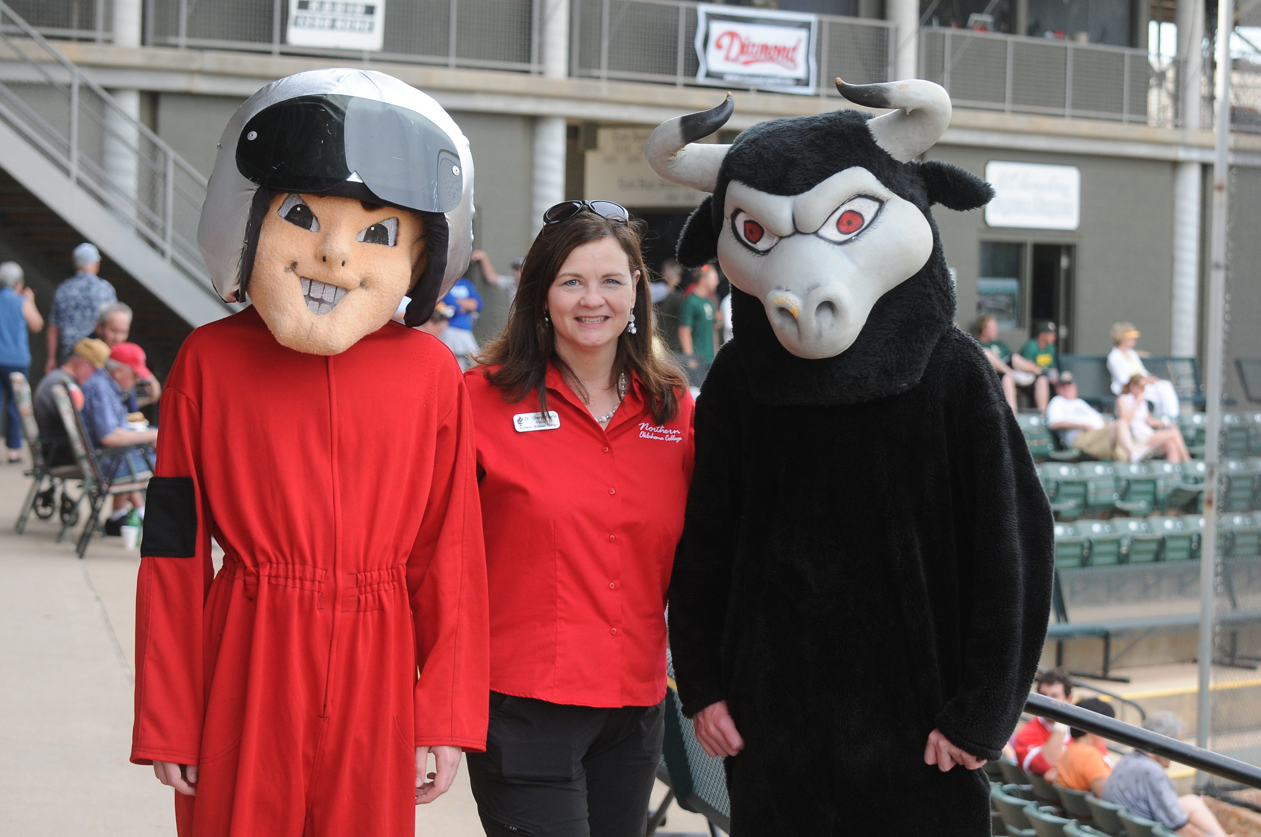 NOC President and Mascots