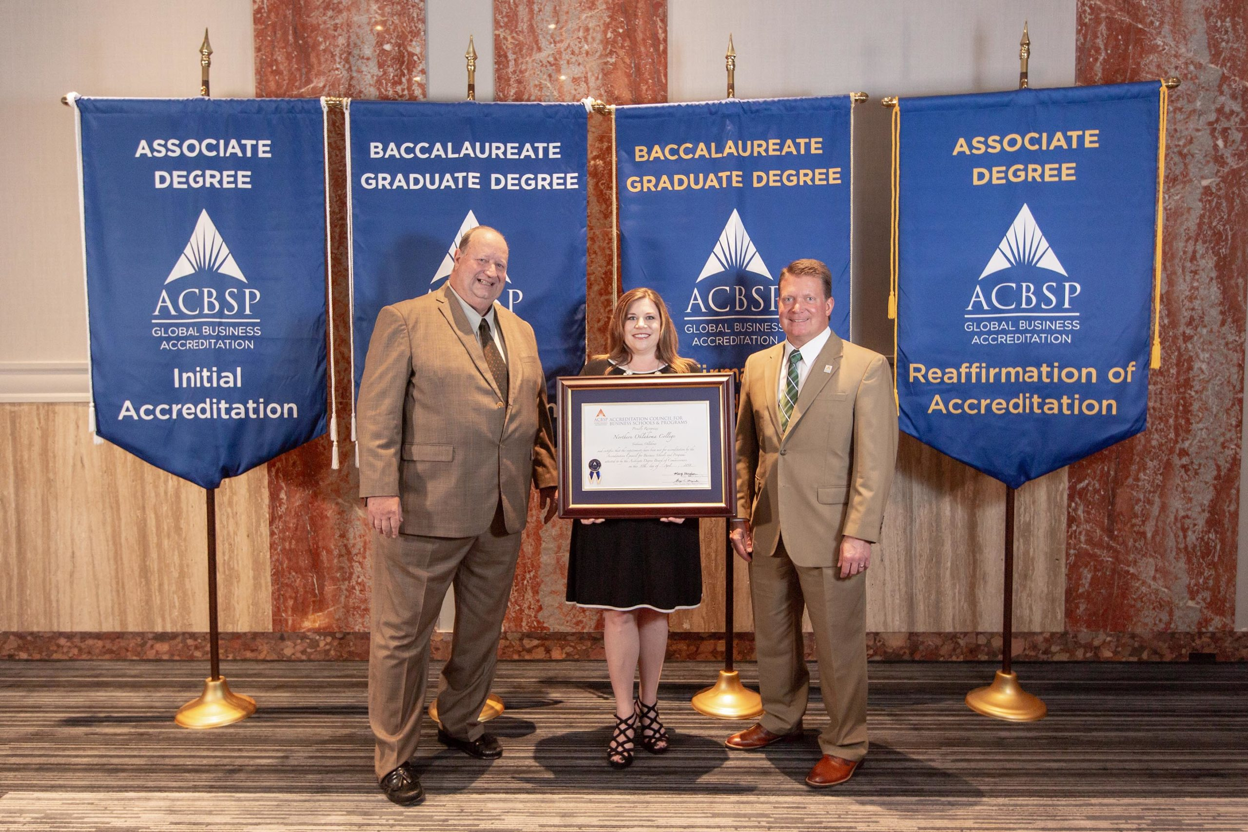 ACBSP Reaffirmation picture